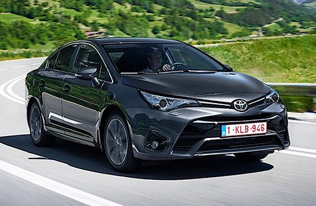 Toyota Avensis Sedan Shortlease
