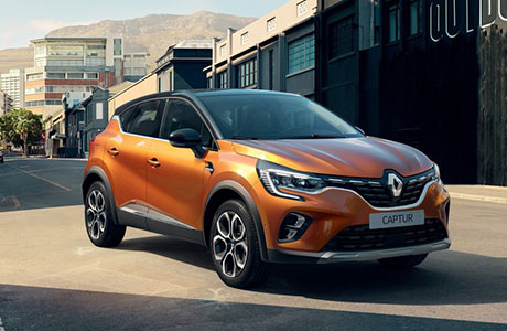 Renault New Captur Shortlease
