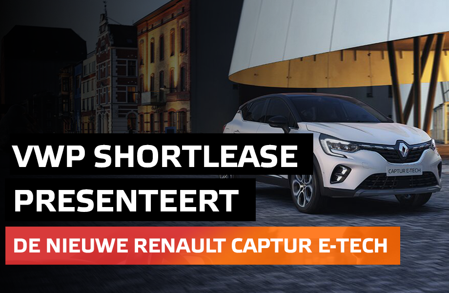 Renault New Captur E-Tech Shortlease