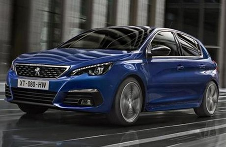 Peugeot 308 hatchback Shortlease