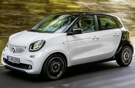 Smart Forfour Shortlease