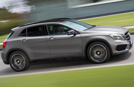 Mercedes GLA klasse Shortlease