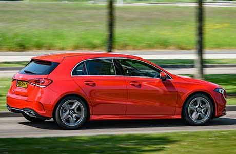 Mercedes A klasse Shortlease