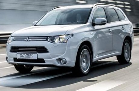 Mitsubishi Outlander PHEV Plug-in Hybrid Shortlease